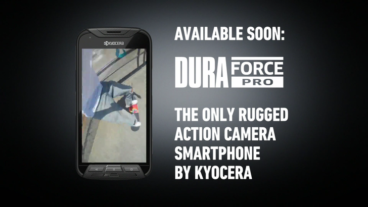 Kyocera's DuraForce PRO is an action cam and smartphone hybrid with not-so-terrible specs and an ugly design