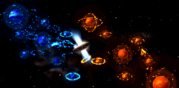 Auralux: Constellations brings new twists to simple strategy, plus Android TV compatibility with local multiplayer