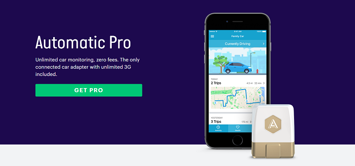 Automatic Pro brings 3G car tracking and IFTTT support for $129.95