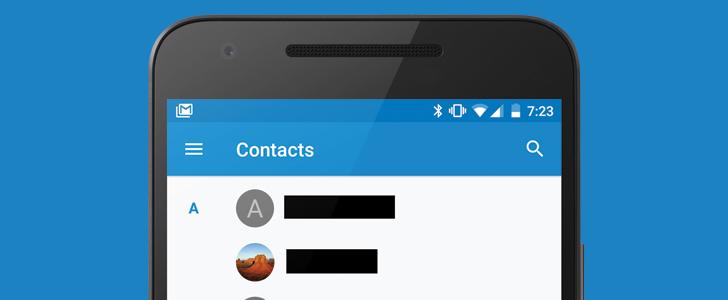 [APK Download] Google Contacts 1.5 adds hamburger menu, labels, and more