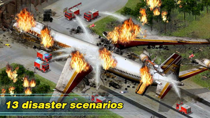 Rescue strategy game EMERGENCY goes free on Android