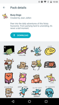 google-allo-sticker-packs-busy-dogs