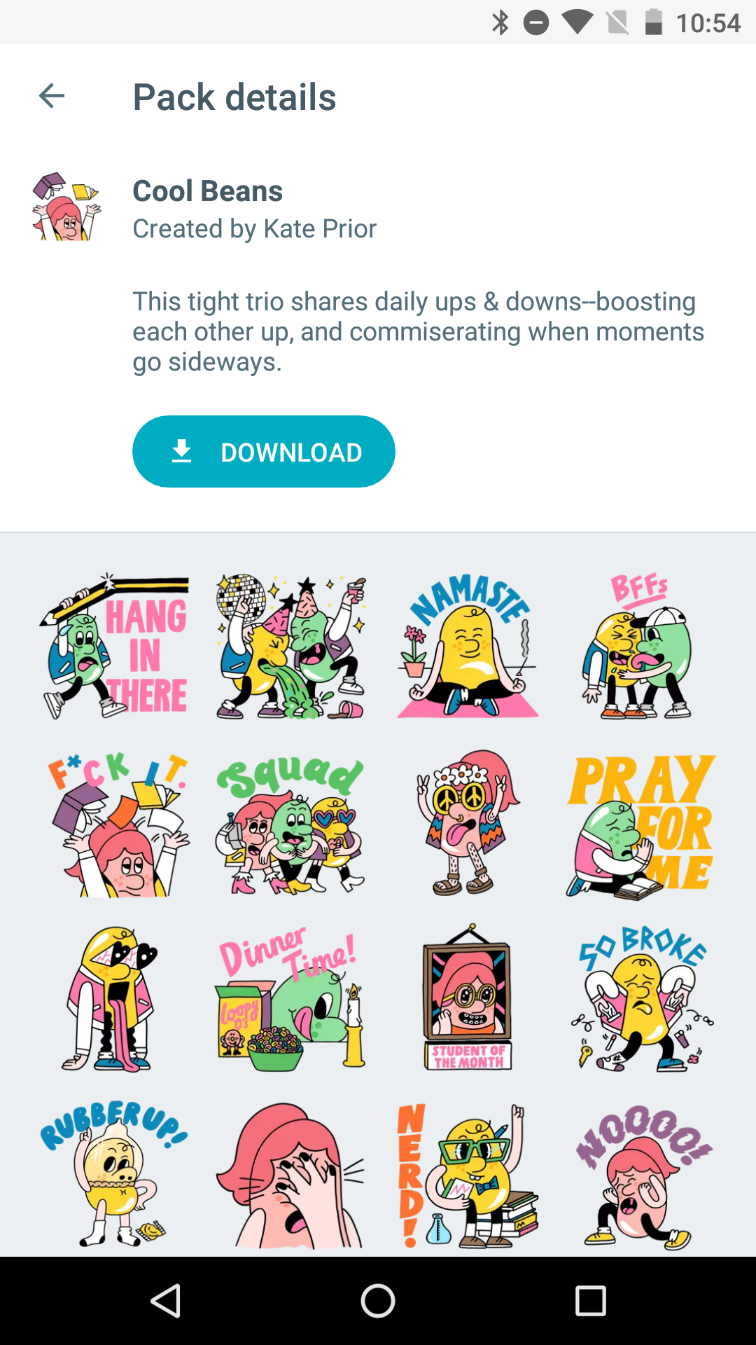 google-allo-sticker-packs-cool-beans