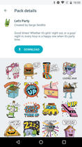 google-allo-sticker-packs-lets-party