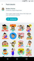 google-allo-sticker-packs-modern-parivar