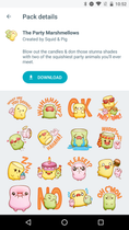 google-allo-sticker-packs-party-marshmellows