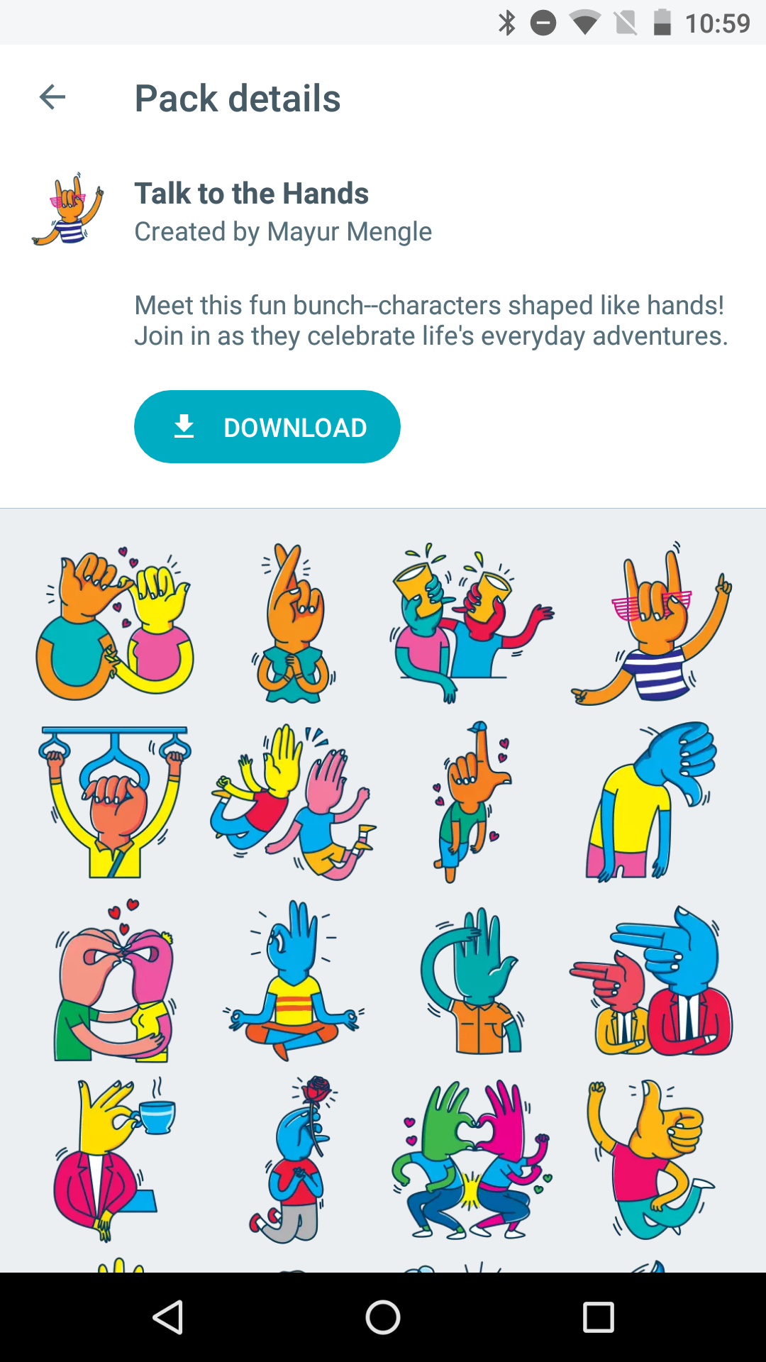 google-allo-sticker-packs-talk-hands