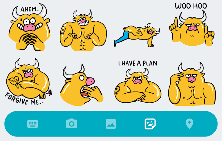 Condoms, butts, and nipples: A first look at some of Google Allo's hilarious sticker packs