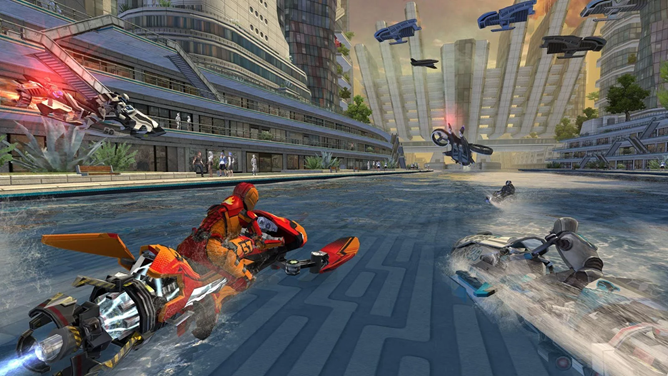 [Update: Now for phones and tablets] Riptide GP: Renegade brings premium jet ski racing to the SHIELD TV, phone and tablet release coming later