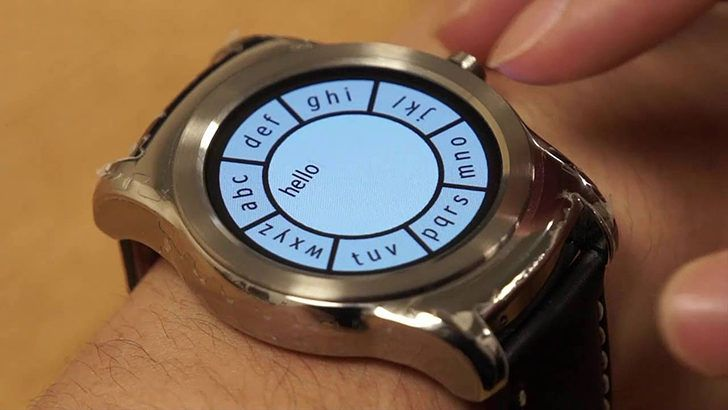 Video: Researchers in UK develop amazing new way to interact with Android Wear devices