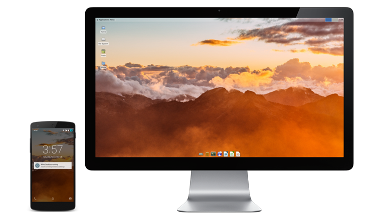 Maru OS mixes a custom ROM with a dockable Debian desktop, and now it's open source