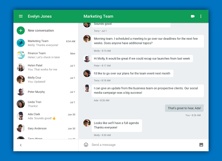 [Update: Now live] Hangouts Chrome extension updated with new UI
