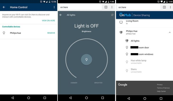 Philips Hue is the first smart home device that works with Google OnHub