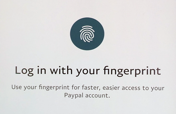PayPal adds support for Android's Fingerprint API