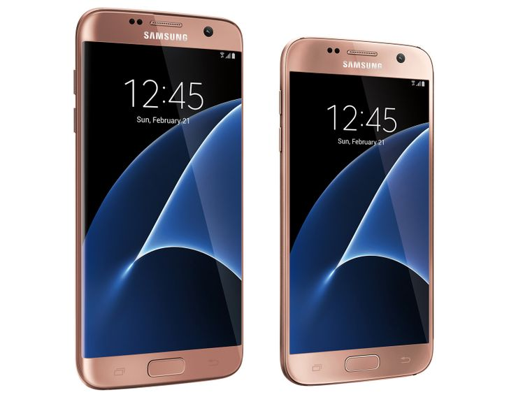 The pink gold Galaxy S7 and S7 Edge are coming to the US as Best Buy exclusives [Update]