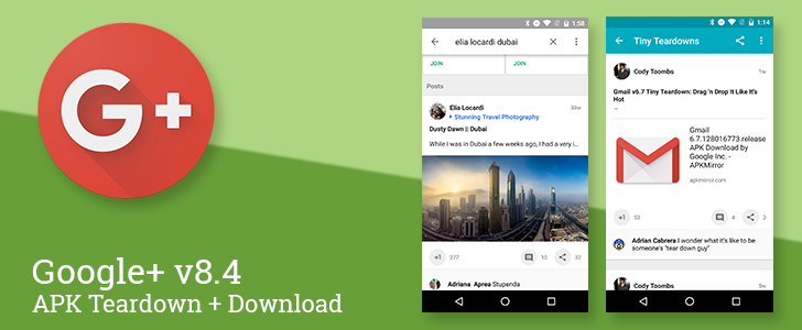 Google+ v8.4 adds avatar photos to comment previews, prepares to let users show off their flair, and may auto-hide NSFW images [APK Teardown + Download]