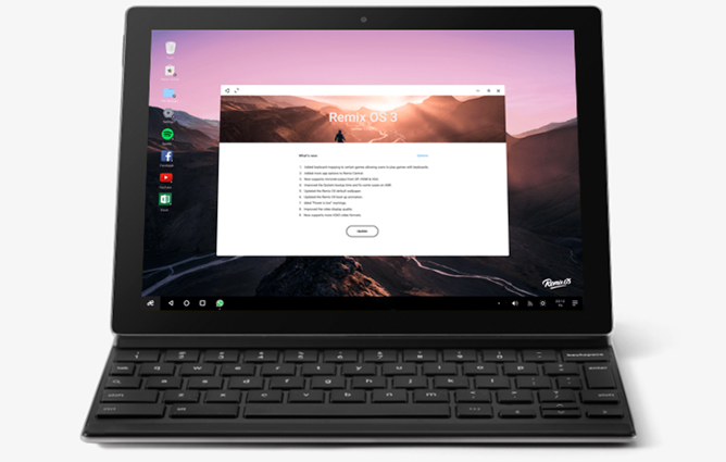 Remix OS Marshmallow now available for the Pixel C and Nexus 9
