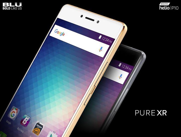 Blu announces the Pure XR, a $299 phone with an octa-core processor, 4GB of RAM, microSD slot, and a fingerprint sensor