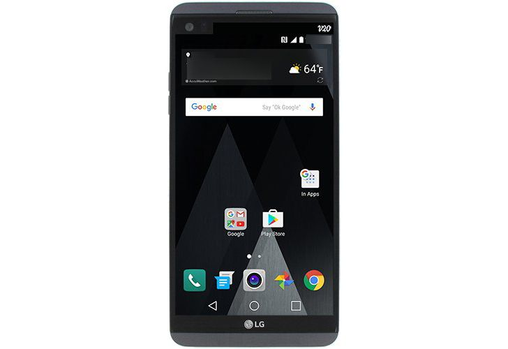 Probable LG V20 render leaks with a less modular look