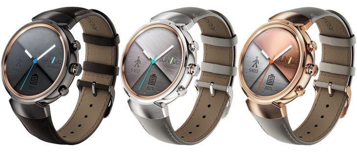 Asus announces ZenWatch 3 with a round display and wearable-optimized Snapdragon 2100 SoC