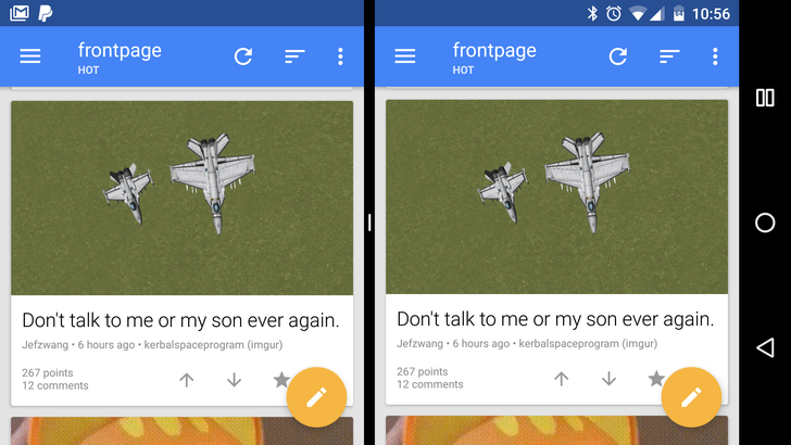 Parallel Windows for Nougat lets you run two copies of an app in split screen