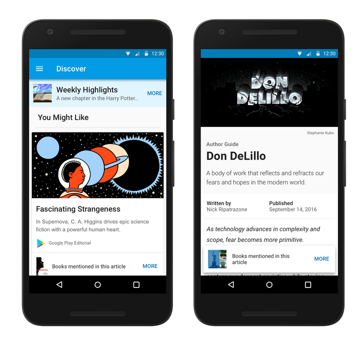 Google Play Books adds Discover mode with customized book news, reviews, and suggestions [APK Download]