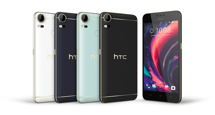 HTC announces the Desire 10 Pro and Lifestyle