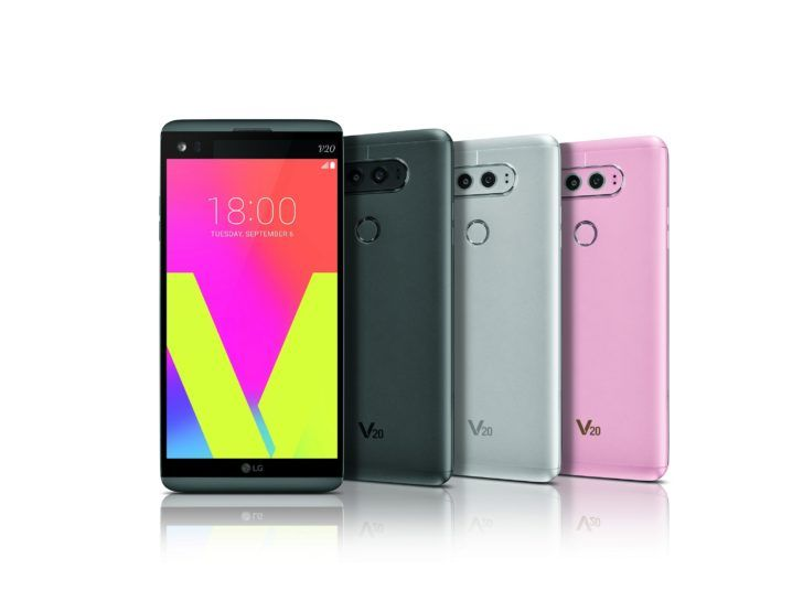 The LG V20 officially becomes the first phone to launch with Nougat this week... in South Korea