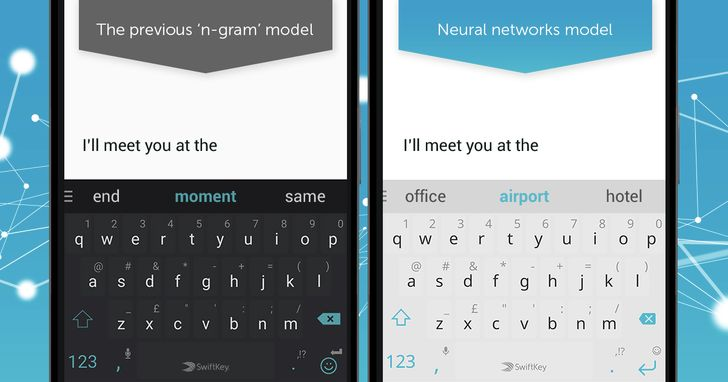 SwiftKey adds neural network predictions to the stable version of its keyboard