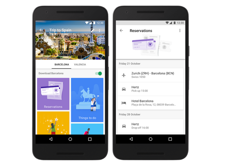 Google Trips travel itinerary app goes live after extensive private beta [APK Download]