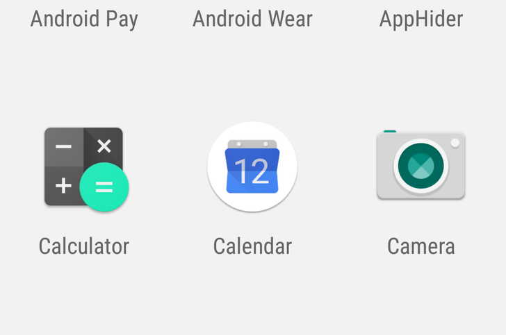Pixel Launcher works with Google Calendar to show the correct date, changes some UI elements