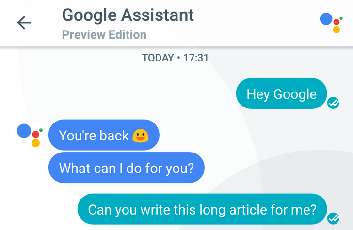Chatting with Google: The many ways Assistant replaces or augments OK Google, Google Now, and Now on Tap