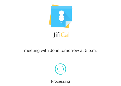 JifiCal is Samsung's attempt to make a voice control calendar app
