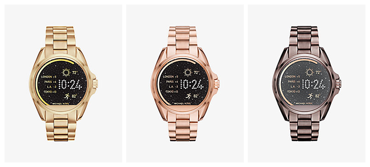 Michael Kors Access smartwatch line now available, powered by Android Wear