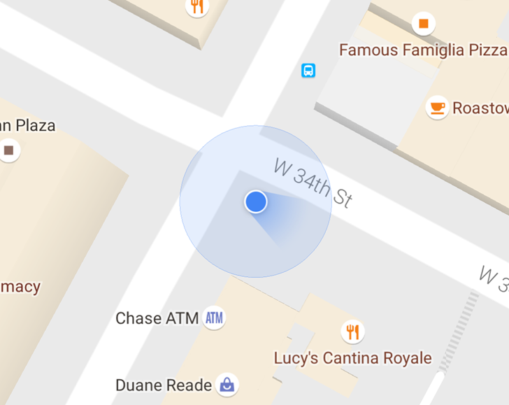 The newer, more accurate direction indicator in Google Maps is going live for all users