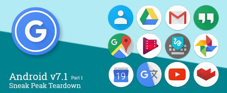 Pixel Launcher Sneak Peek Part 1: Google's new circular launcher icons [APK Teardown]
