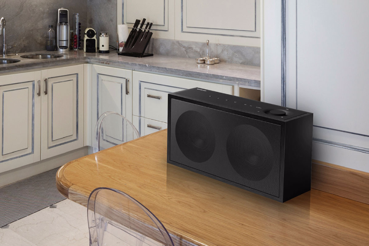 Onkyo's NCP-302 is a Bluetooth and Google Cast-enabled speaker that also supports Play-Fi, Airplay, has a 3.5mm input