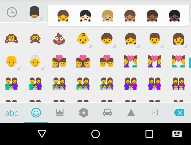 SwiftKey updated with support for Android 7.0 emoji