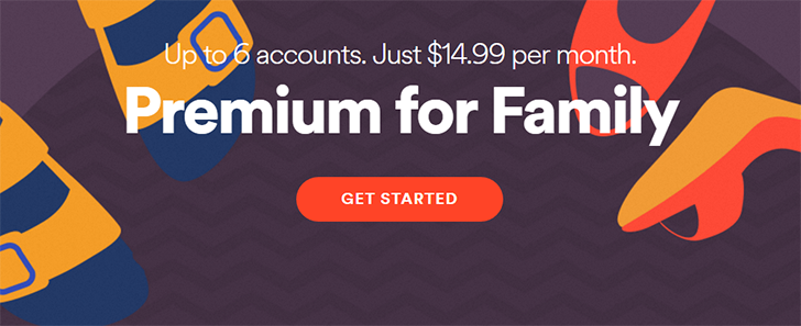 Spotify Premium for Family now available in Canada, same pricing as US