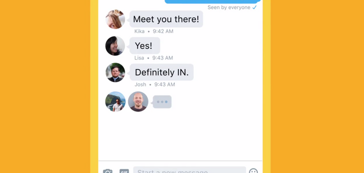Twitter's DMs now feature read receipts and some other new things