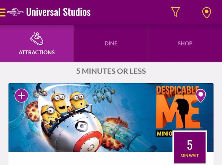 Universal Studios Hollywood gets an Android app, more than 2 years after the Orlando theme park