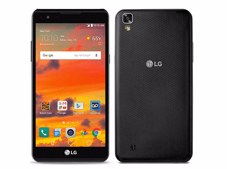 LG launches Sprint and Boost Mobile's first MediaTek-equipped device, the X power