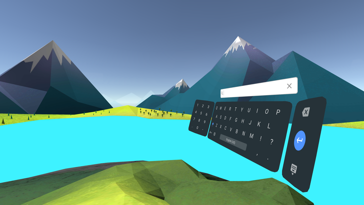 Google releases Daydream Keyboard in the Play Store for VR typing