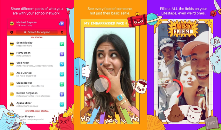 Lifestage is Facebook's teen-only video profile app