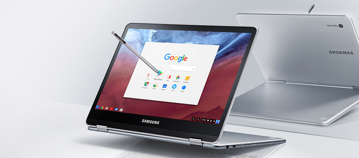 Samsung Chromebook Pro will come with a 2K 12.3-inch screen, 360° hinge, and a stylus pen
