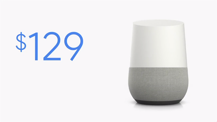 Google Home available on 4th of November for $129, pre-order from today