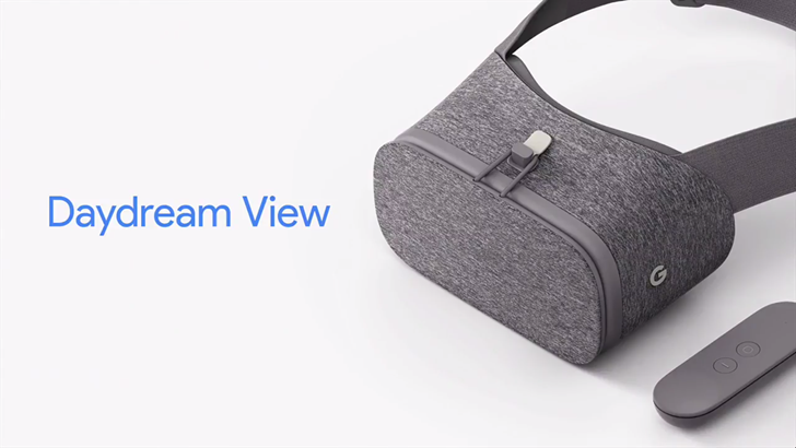 Google Daydream View is Google's fabric-wrapped VR headset, available in November for $79