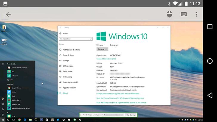 Chrome Remote Desktop 53 adds remote sound support [APK Download]
