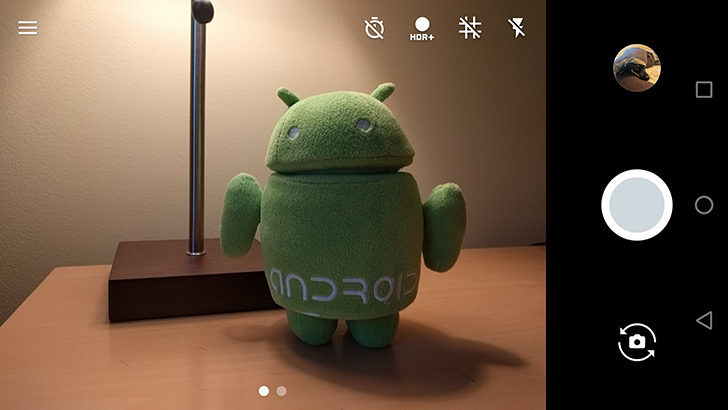 Android 7.1 feature spotlight: Camera no longer freezes when screen is rotated