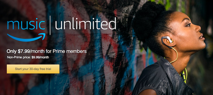 [Update: Now in the UK] Amazon introduces Music Unlimited at $9.99/month with lower prices for Prime subscribers or Echo owners